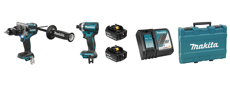 Makita DLX2176M 2 Tool Cordless Combo Kit