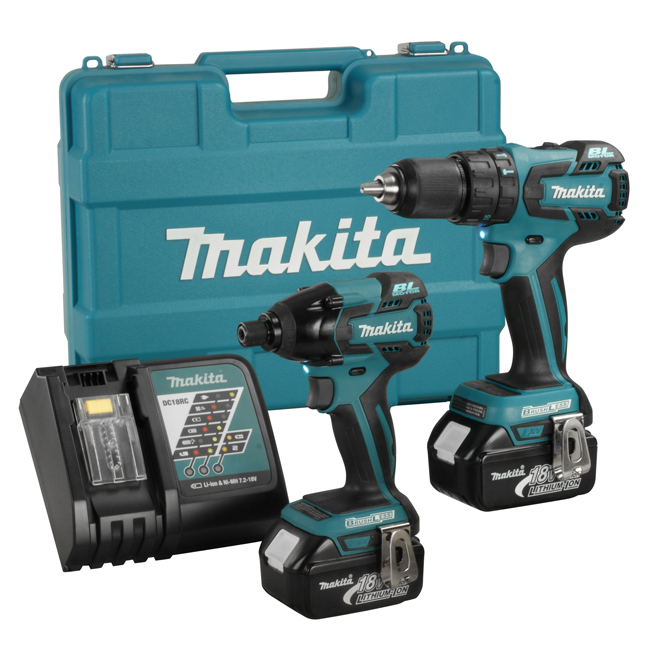 Makita LXT239 18V 2 Piece Cordless Combo Kit