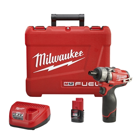 Milwaukee 2402-22 M12 FUEL 1/4 in. Hex 2-Speed Screwdriver Kit