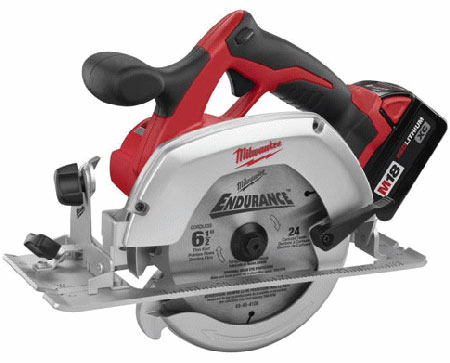 Milwaukee 2630-22 M18 Cordless LITHIUM-ION 6-1/2 in. Circular Saw