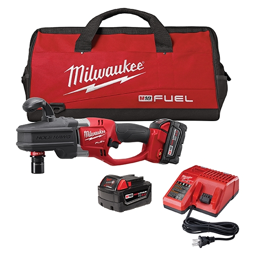 Milwaukee 2708 22 M18 Fuel Hole Hawg 174 Right Angle Drill