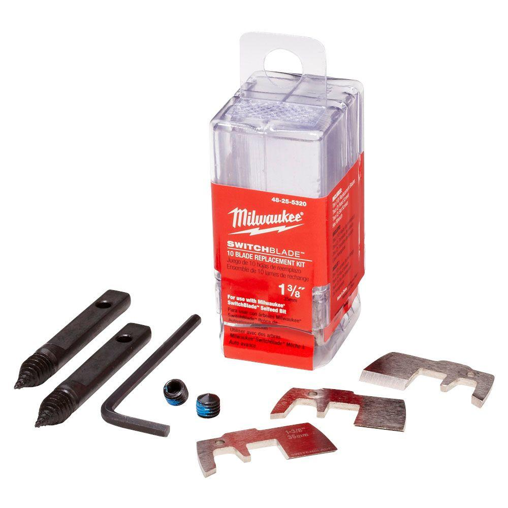 Milwaukee 48 25 5320 1 3 8 Quot 10 Blade Replacement Kit