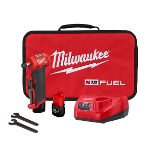 Milwaukee 2485-22 M12 FUEL Right Angle Die Grinder Kit