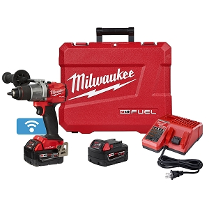 Milwaukee 2806-22 M18 FUEL 1/2 in. Hammer Drill with One Key Kit
