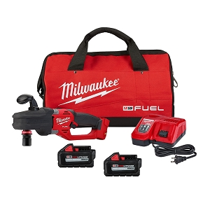 Milwaukee 2808-22 M18 FUEL Hole Hawg Right Angle Drill w/Quik-Lok - 6.0 Kit
