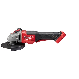 Milwaukee 2980-20 M18 FUEL 4-1/2 in.-6 in. No Lock Braking Grinder with Paddle Switch