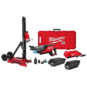 Milwaukee MXF301-2CXS MX FUEL™ Handheld Core Drill Kit w/ Stand