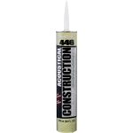 Nuco 44680 Acoustical & Vapour 825 ml NuFlex 446 Acoustical and Vapour Sealant