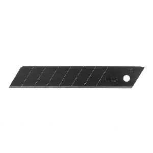 Olfa LBB-50B 18Mm Black Ultra-Sharp Snap-Off Blades, 50 Pack (Lbb-50B)