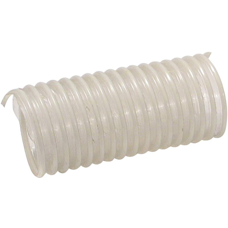 ROK 4 in. Clear, Flexible, Collapsible, PVC Dust Hose