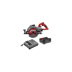 Skilsaw SPTH77M-12 7-1/4 In. TrueHVL Cordless Worm Drive Saw Kit