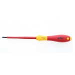 Wiha 92005 Insulated Cushion Grip Slotted Screwdriver 3.5 x 100mm (9/64
