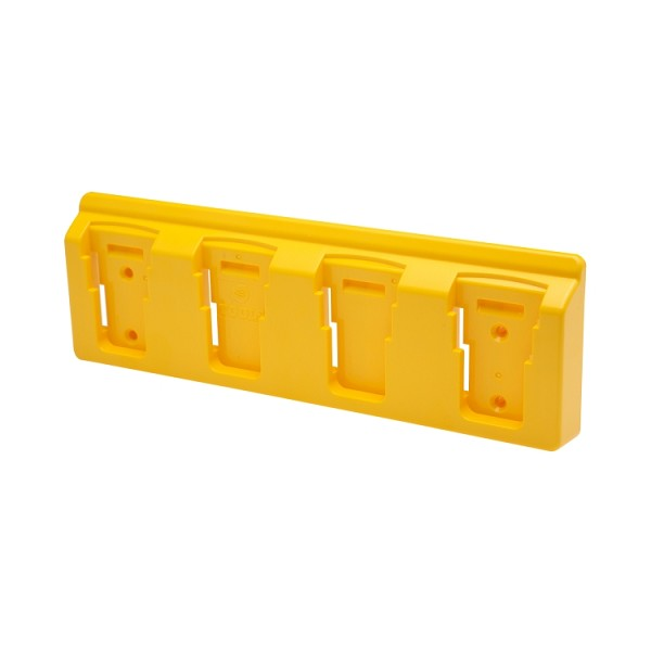 48 Tools BH-DEW-YEL-04 Yellow Battery Holder for Dewalt 20V Batteries