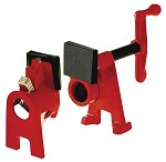 Bessey BPC-H34 H-Series clamp fixture set for 3/4 inch black pipe