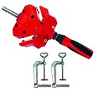 Bessey WS-3+2K BESSEY® 90 degree angle clamp with two TK-6 table clamps included