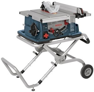 Bosch 4100-09 10 In. Worksite Table Saw with Gravity Rise™ Wheeled Stand