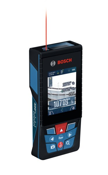 Bosch GLM400CL BLAZE™ Outdoor 400 Ft. Connected Lithium-Ion Laser Measure with Camera