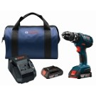Bosch HDS181A-02 18V Compact Tough™ 1/2 In. Hammer Drill/Driver Kit