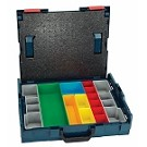 Bosch L-BOXX-1A 17-1/2 In. x 14 In. x 4-1/2 In. Stackable Carrying Case with 13 pc. Insert Set