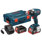 Bosch IDH182-01L 18 V EC Brushless 1/4 In. and 1/2 In. Socket-Ready Impact Driver