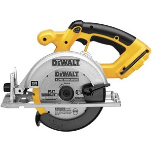 "Dewalt DC390B 6-1/2"" (165mm) 18V Cordless Circular Saw (Tool Only)"