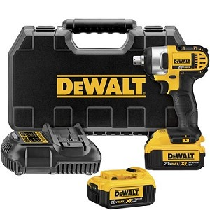 "Dewalt DCF880M2 20V MAX* Lithium Ion 1/2"" Impact Wrench Kit"
