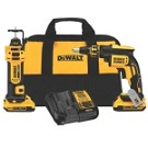 Dewalt DCK263D2 20V MAX* Brushless Drywall Screwgun & Cut-Out Tool Combo Kit (2.0ah)