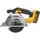 Dewalt DCS373P2 20V MAX* Lithium Ion Metal Cutting Circular Saw Kit