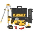 Dewalt DW079KDT 18V Self-Leveling Int/Ext Rotary Laser Package