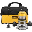 Dewalt DW616K 1-3/4 HP (maximum motor HP) Fixed Base Router Kit