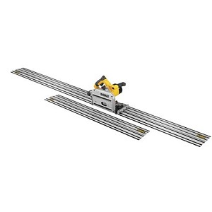 "Dewalt DWS520CK 6-1/2"" (165mm) TrackSaw Kit with 59"" & 102"" Track"