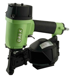 "Grex RN45 1-3/4"" Coil Roofing Nailer"