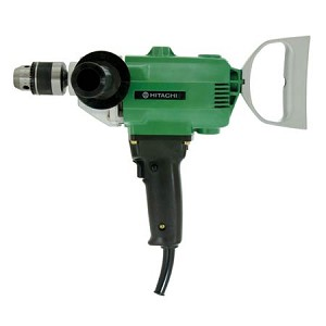 "Hitachi D13 1/2"" Drill, 6.2 Amps, Spade Handle, 550 RPM"