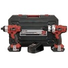 Performance Plus 8020L/8022LK King Canada 20V Max Lithium-Ion Cordless Drill/Impact Driver Kit