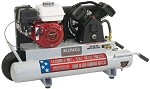 King Industrial KC-5510G1 10 Gallon 5.5 Hp Gas (Honda) Wheelbarrow Air Compressor