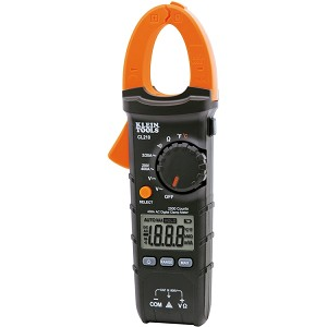 Klein CL210 Digital Clamp Meter AC Auto-Ranging Temp