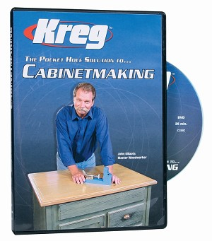 Kreg V03-DVD DVD - Pocket Hole Solution to CABINETMAKING