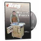 Kreg V06-DVD DVD - Pocket Hole Solution to ROUTER TABLES