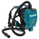 Makita DVC260ZX Cordless Backpack Vacuum Cleaner with Brushless Motor