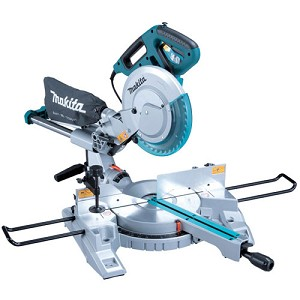 "Makita LS1018L 10"" Dual Sliding Compound Mitre Saw With Laser"