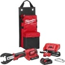 Milwaukee 2678-22BG M18  FORCE LOGIC  6T Utility Crimper Kit with D3 Grooves and Fixed BG Die