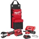 Milwaukee 2678-22 M18  FORCE LOGIC  6T Utility Crimper Kit with D3 Grooves