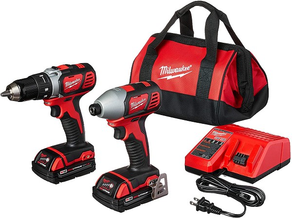 Milwaukee 2691-22 M18™ Cordless LITHIUM-ION 2-Tool Combo Kit