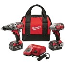 Milwaukee 2697-22 M18 Cordless LITHIUM-ION 2-Tool Combo Kit