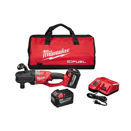 Milwaukee 2708-22HD M18 FUEL HOLE HAWG® Right Angle Drill Kit w/ QUIK-LOK