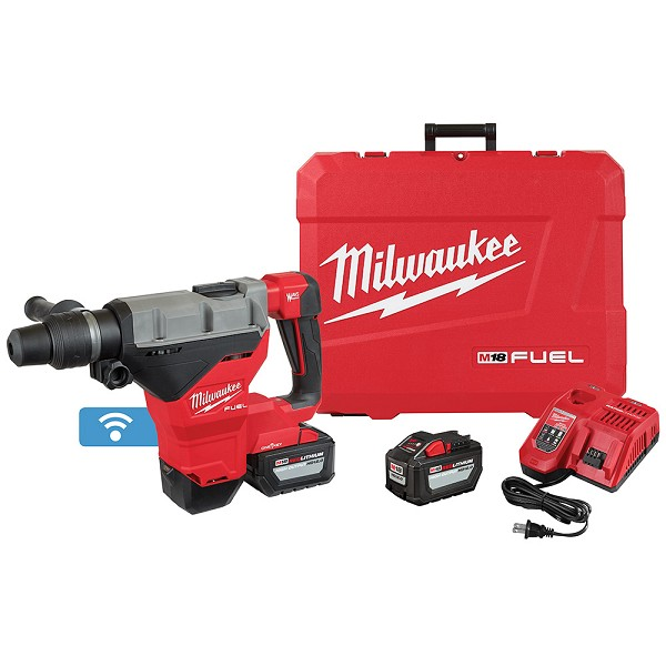 Milwaukee 2718-22HD M18 FUEL 1-3/4 in. SDS Max Rotary Hammer with One Key Two HD12.0 Battery Kit