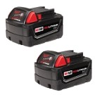 Milwaukee 48-11-1822 M18 REDLITHIUM High Capacity Battery Two Pack