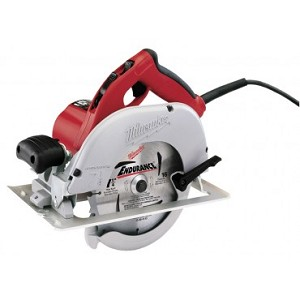 "Milwaukee 6391-21 7-1/4"" Left Blade Circular Saw with Case"
