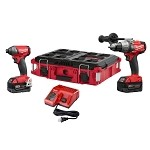 Milwaukee 2897-22PO M18 FUEL 2-Tool Combo Kit with Packout Tool Box