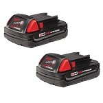 Milwaukee 48-11-1811 M18 REDLITHIUM™ Compact Battery Two Pack